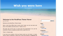 Beach Wordpress Template
