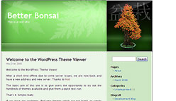 Bonsai Wordpress Template