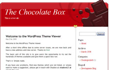 Chocolate Wordpress Template