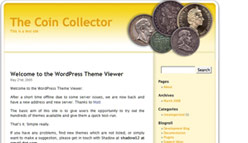 Coin Collecting Wordpress Template