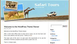 Safari Wordpress Template