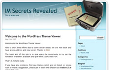 Top Secret Wordpress Template