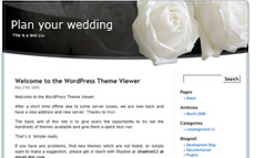 Wedding Wordpress Template